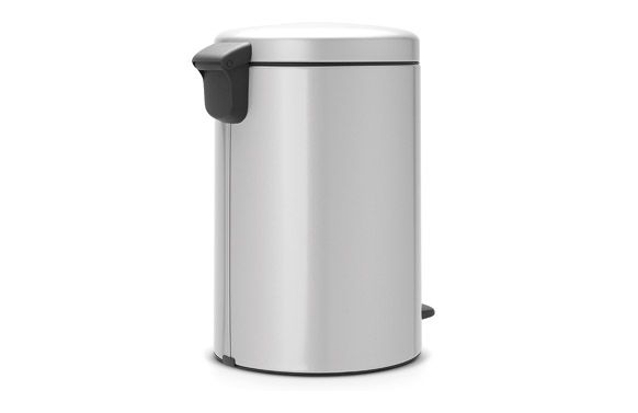 Cubo pedal new icon gris metalizado 20 l