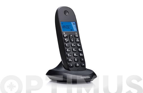 Telefono inalambrico c1001 lb+ negro