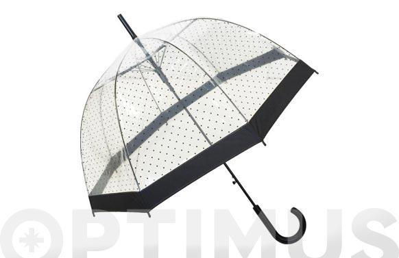 Paraguas señora automatico lady transparente