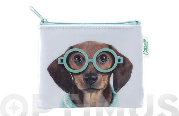 Portamonedas mini perro