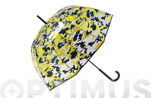 Paraguas largo señora camuflaje surtidos