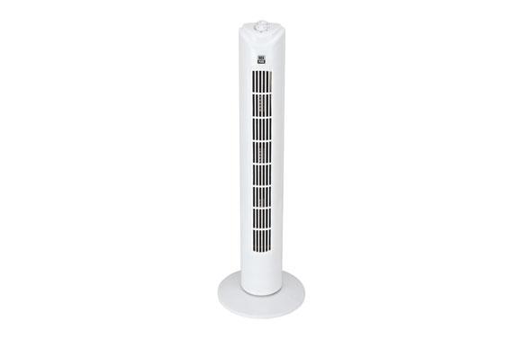 Ventilador torre blanco temporizador 1 hora 45 w h80 cm