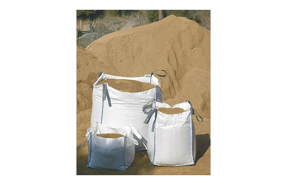 Saco escombros big bag 100x90x90 cm blanco