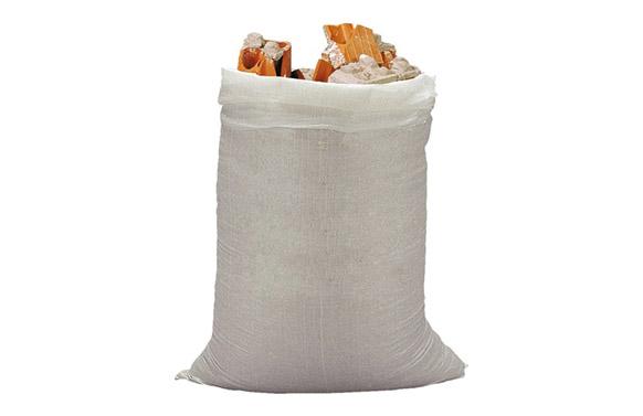 Saco rafia 10 uds 60x100 cm blanco