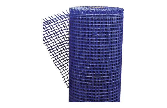 Malla revocos fibra vidrio 10 x 10/100 cm azul