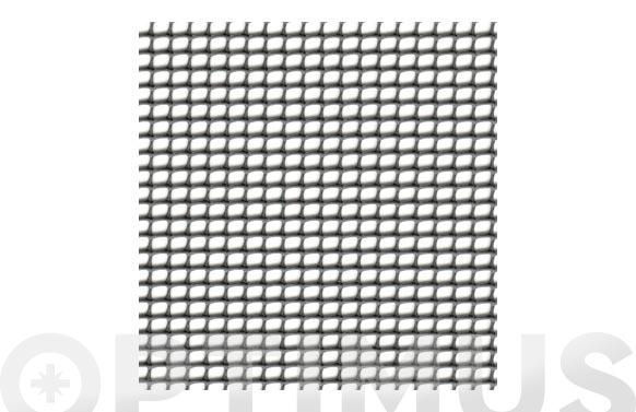 Malla cuadrinet 12 (luz 12 x 11,5mm) pe 300gr/m2 1 x 5 mt gris