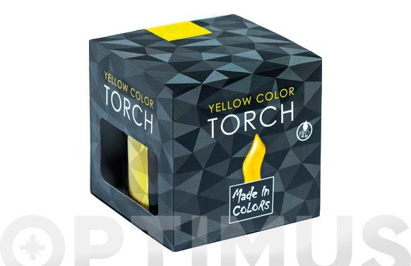 Antorcha llama color con citronela amarillo