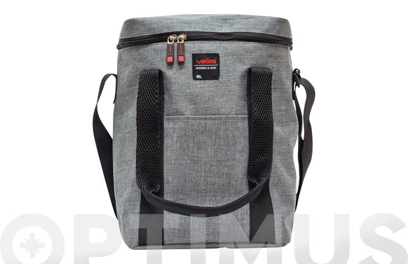 Nevera flexible 16 l gris stone