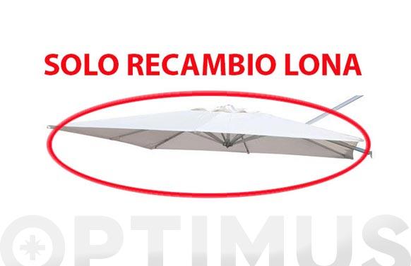 Tela recambio parasol excentrico 9635527 arena