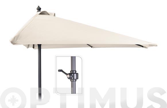 Parasol balcon c/manivela 250cm tubo 32mm arena