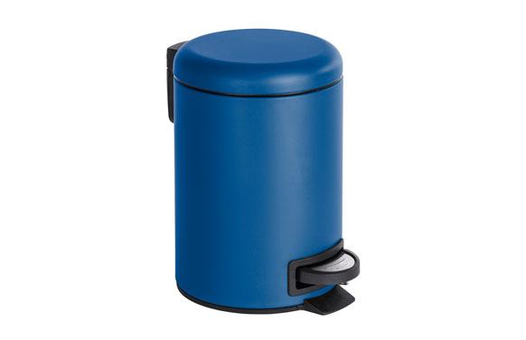 Cubo de pedal leman azul oscuro 3 l