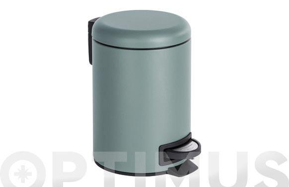 Cubo de pedal leman gris 3 l