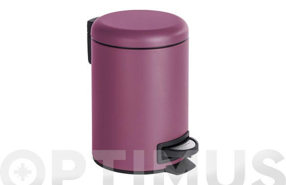 Cubo de pedal leman lila 3 l