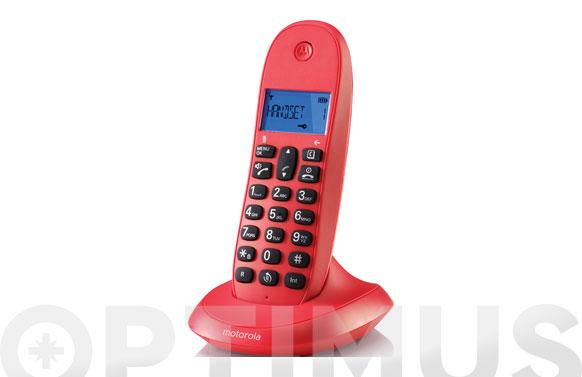 Telefono inalambrico c1001 lb+ cereza