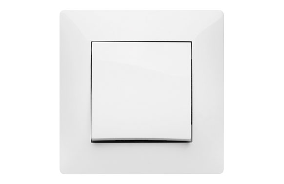 Conmutador 10a habitat15 blanco