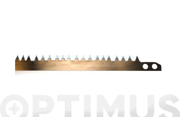"""Hoja sierra tronzar 30"""" 76,2 cm. diente normal para madera seca"""