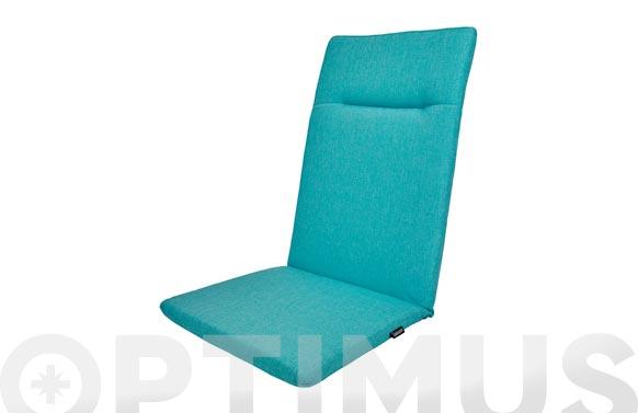 Cojin posiciones green azul turquesa 119 x 50 x 6 cm