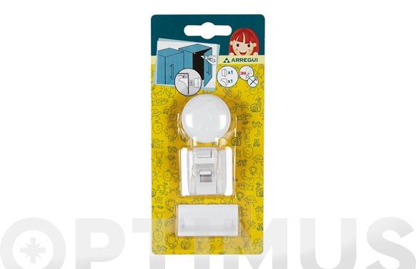 Cierre seguridad armarios y cajones magnetico 1 cierre+1 llave