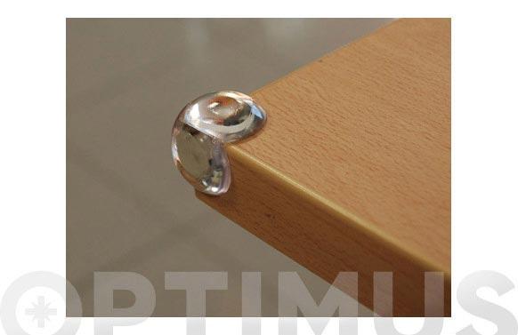 Protector esquinas (blister 4 unidades) m-ct transparente