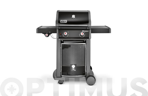 Barbacoa gas con hornillo spirit classic e-220 black