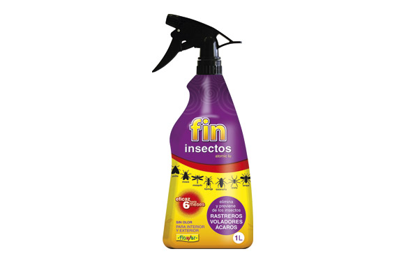 Insecticida fin insectos 1 l