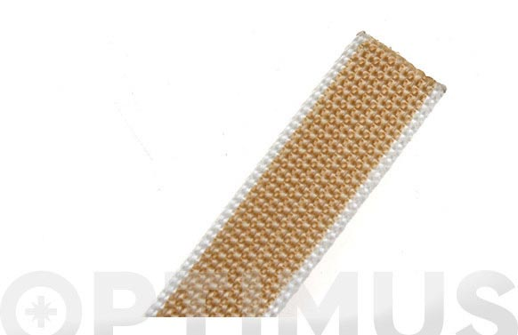 Cinta persiana beige 6 m x 22 mm