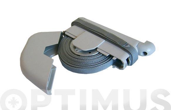 Recogedor persiana abatible desmontable cinta-14 marfil