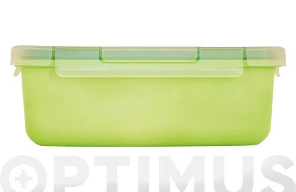 Contenedor hermetico 0,4 l verde