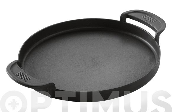 Plancha acero fundido 'original kettle plus red' ø 30 cm