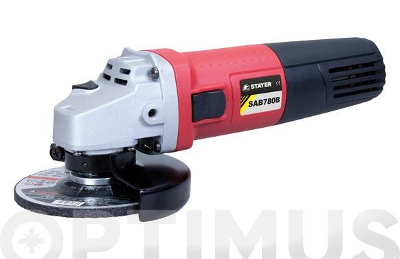Amoladora con cable ø 115 sab780 br 780 w