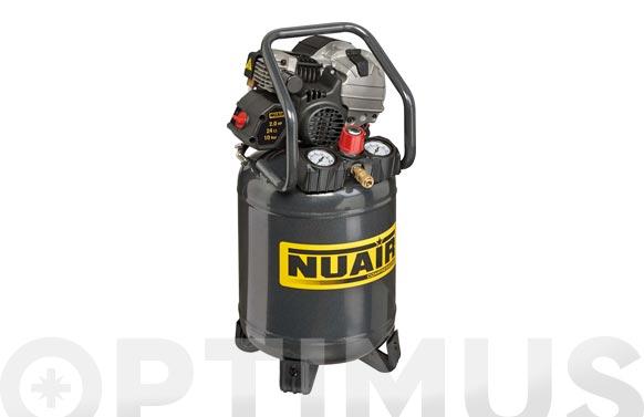 Compresor con aceite deposito vertical futura 227-2hp 24l