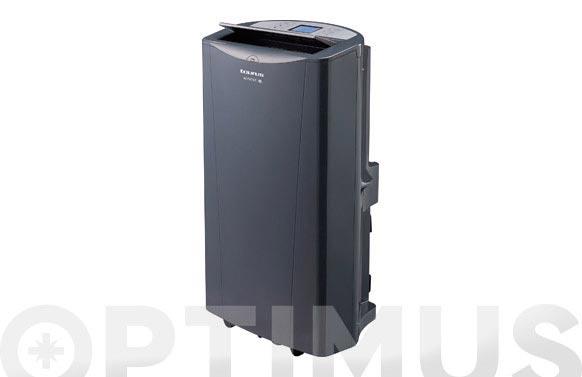 Aire acondicionado portatil + bomba calor 12000 btu (3000frigo) negro - ac350rvkt