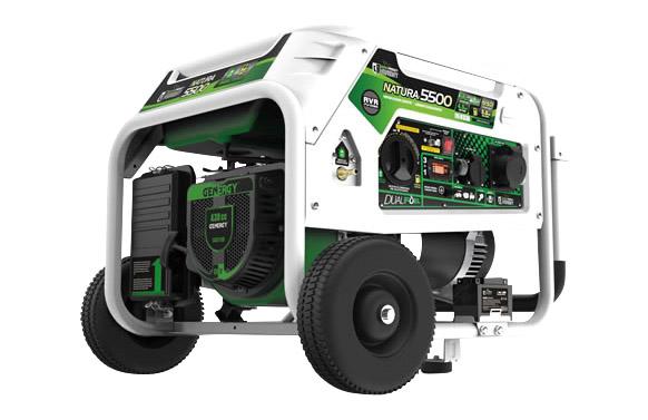 Generador propano/gasolina arranque electrico 5kva natura 5500