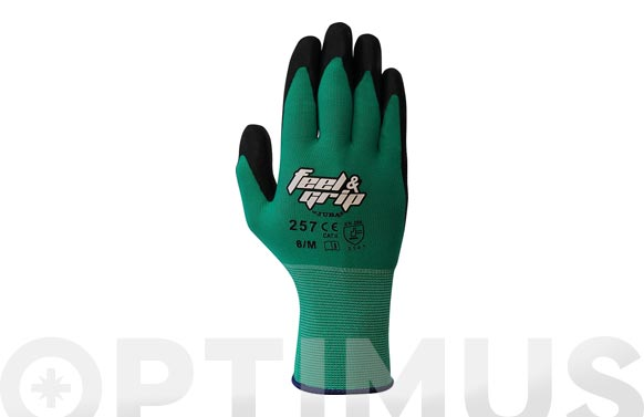 Guante feel and grip anr t 9