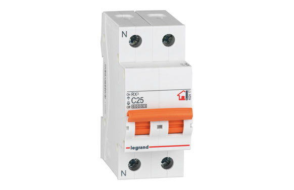 Magnetotermico rx3 bipolar 10a-p/naranja