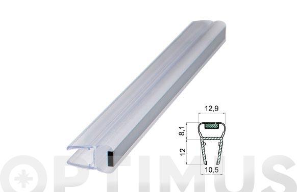Perfil magnetico mampara baño/ducha 180./6-8mm/2mt
