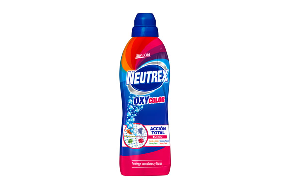 Quitamanchas neutrex oxy color 800 ml