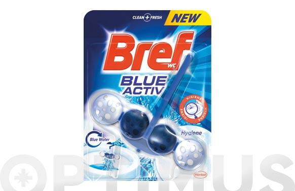 Limpiador wc bref poder activo blue 50 gr