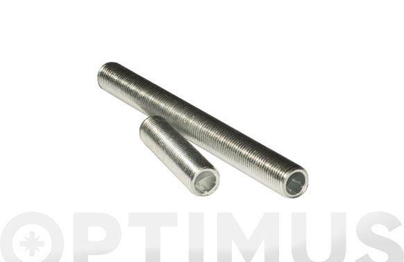 Varilla roscada hueca para lampara (2 unidades) m10/100x40 mm cincada