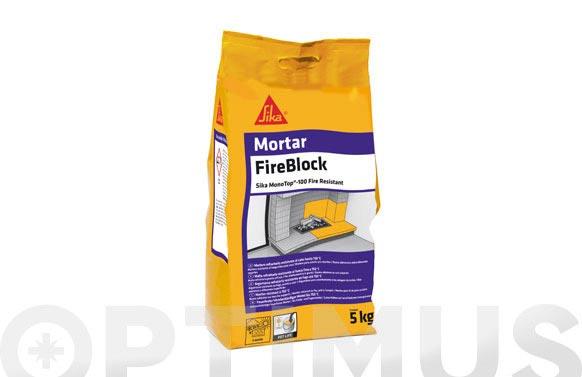 Sika monotop 100 resistente al fuego 5 kg