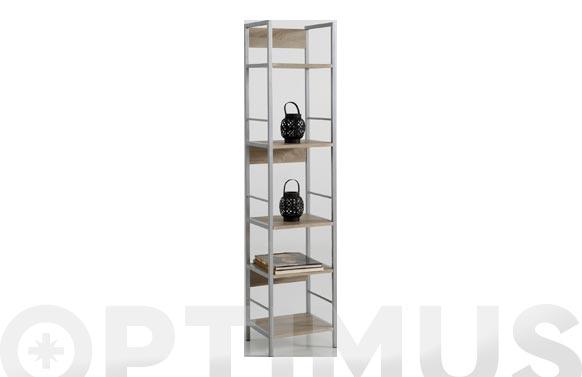 Estanteria kala 34 metal/madera 150 x 34 x 30 cm
