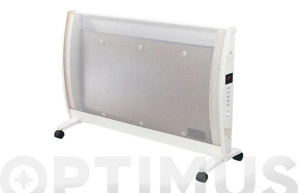 Radiador panel mica c/temporizador 'kayami' 1200-2000w blanco