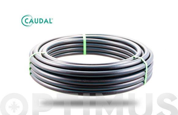 Tubo alimentario brico pe-40-ld baja densidad pn1 ø 20 mm / 50 m