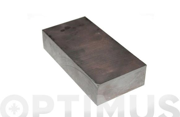 Iman ferrita rectangular 40 x 20 x 10 mm