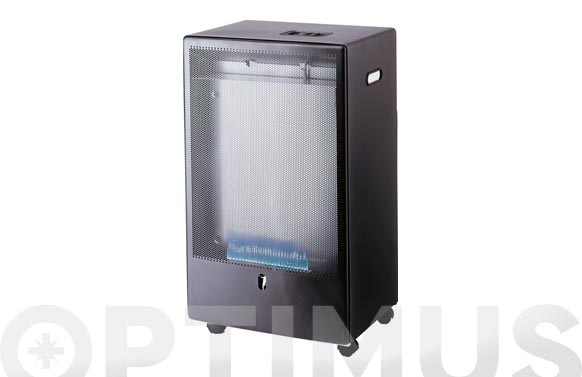 Estufa gas llama azul termostato on/off 4.2kw