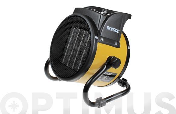Calefactor ptc profesional 2.000 w con termostato, inclinacion ajustable