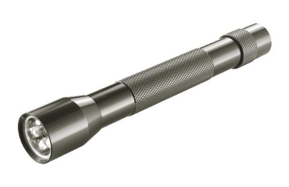 Linterna aluminio multiled 2aa