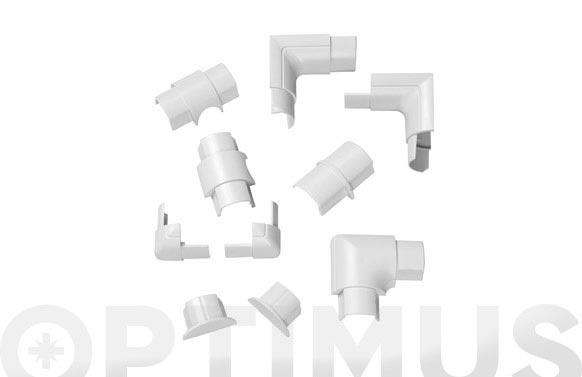 Accesorios semicircular blanco 30 x 15