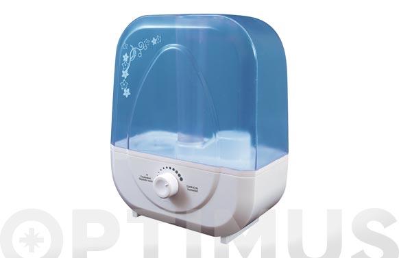 Humidificador ultrasonico deposito 5lt 25w