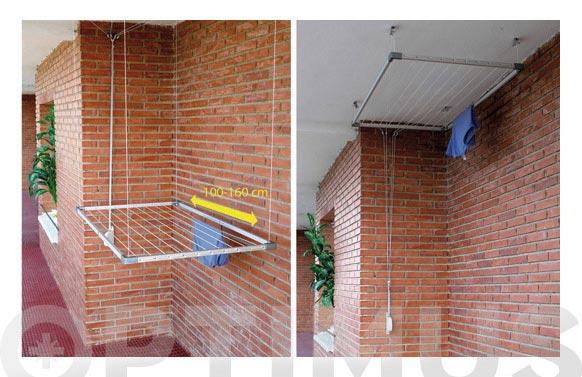 Tendedero techo extensible tezno 100-160